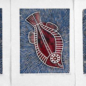 Barramundi Dreaming Triptych